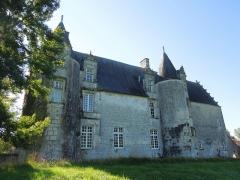 Château du Breuil - Deutsch: Das Château du Breuil bei Bonneuil, Nordseite, gesehen von Nordosten