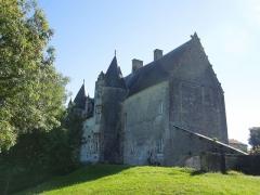 Château du Breuil - Deutsch: Das Château du Breuil bei Bonneuil, gesehen von Nordwesten