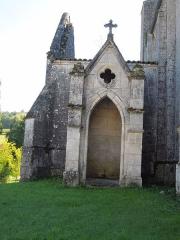 Eglise Saint-Pierre - Deutsch: Kirche Saint-Pierre in Bonneuil, Seitenkapelle am nördlichen Querschiff