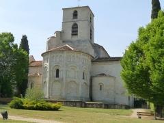 Eglise Saint-Jean-Baptiste - Français:   Eglise de Bourg-Charente, Charente, France