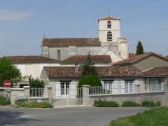 Eglise Saint-Jean-Baptiste - Français:   Bourg-Charente, Charente, France
