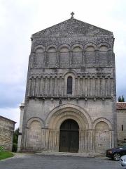 Eglise Saint-Jean-Baptiste -  église de Bourg-Charente, Charente, France