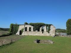 Château - Deutsch: Château de Bouteville, Innenhof und Ruine des Ostflügels