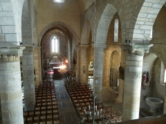 Eglise Saint-Martial - English: church of Brigueuil, Charente, SW France