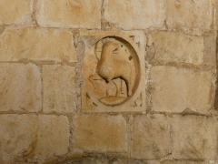Eglise Saint-Nicolas - English: church of Cellefrouin, Charente, SW France