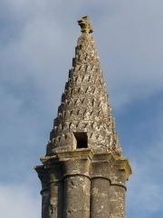 Lanterne des Morts - English: lantern of the deaths of Cellefrouin, Charente, SW France