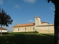 Eglise Saint-Martial - English: church St-Martial at Chalais, Charente, France