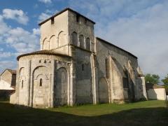 Eglise Saint-Sulpice - English:   church of Challignac, Charente, France