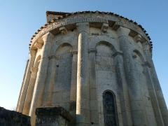 Eglise Saint-Christophe - Français:   église de Champagne-Vigny (Champagne-de-Blanzac), Charente, France