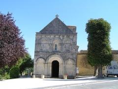 Eglise Saint-Christophe - Français:   église de Champagne-Vigny, Charente, France