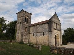 Eglise Saint-Georges de Richemont - Français:   église de Richemont commune de Cherves-Richemont en Charente