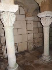 Eglise Saint-Georges de Richemont - Français:   Crypte du XIe de l\'église Saint-Georges de Richemont à Cherves-Richemont
