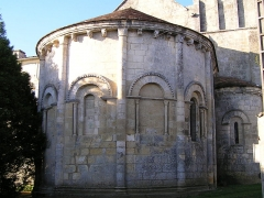 Eglise Saint-Vivien - Français:   église Saint-Vivien de Cherves-Richemont en Charente