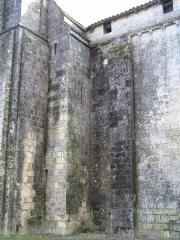 Eglise Saint-Vivien -  église fortifiée Saint-Vivien de Cherves-Richemont, Charente, France