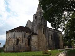Eglise Saint-Vivien - Français:   église Saint-Vivien de Cherves commune de Cherves-Richemont en Charente
