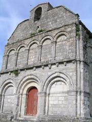 Eglise Saint-Sulpice -  église de Chillac, Charente, France