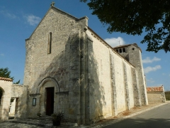 Eglise Saint-Christophe - English: church of Claix, Charente, SW France