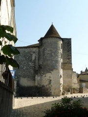 Château de François-Ier - English: castle of Cognac, Charente, SW France