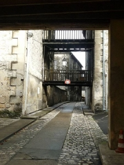 Château de François-Ier - Français:   ruelle dans l\'ancien château de Cognac, Charente, France