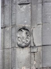 Château de François-Ier - Français:   Bas-relief d\'une fenêtre Renaissance du château de Cognac, Charente, France.