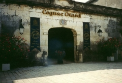 Château de François-Ier -  Entrance of the cognac maker Otard at the Château de Cognac in Cognac.