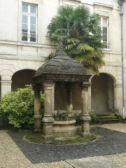 Ancien couvent des Récollets - English: Cognac, Charente, France, old Couvent des Récollets. It was built in the 17th century around 1640.