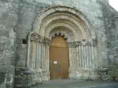Eglise Saint-Marien - English: church of Condéon, Charente, SW France