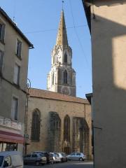 Eglise Saint-Maxime - Français:   église Ste-Maxime, Confolens, Charente, France