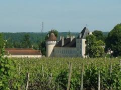 Château de l'Oisellerie - English: Oisellerie castle at St-Michel (Charente, France)