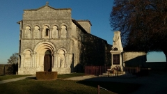 Eglise Saint-Martial - Français:   Eglise de Dirac, Charente, France
