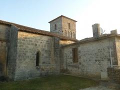 Eglise Saint-Martial - église de Dirac (16), France