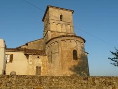 Eglise Saint-Martial - English: church of Dirac, Charente, SW France