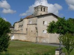 Eglise Saint-Maurice - Français:   Eglise et prieuré d\'Echallat, Charente, France