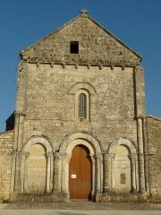 Eglise Saint-Pierre - English: church of Fléac, Charente, SW France