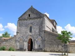 Eglise Saint-Pierre -  église de Fléac, Charente, France