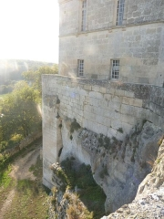 Château de la Tranchade - Français:   Château de la Tranchade, Garat, Charente, France. Aile sud surplombant la vallée