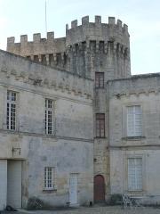 Château de la Tranchade - Français:   Château de la Tranchade, Garat, Charente, France. Donjon central