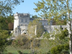 Château de la Tranchade - Français:   Château de la Tranchade, Garat, Charente, France. Vue du sud