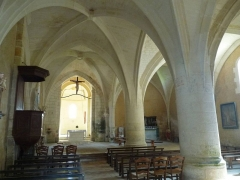 Eglise Notre-Dame - English: church of Gardes, Charente, SW France