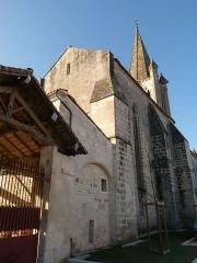 Eglise Saint-Martin - Français:   église de Gensac-la-Pallue, Charente, France