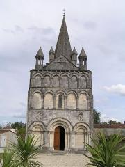 Eglise Saint-Martin - Français:   église de Gensac-la-Pallue
