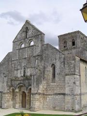 Eglise Saint-Médard -  église de Genté, Charente, France