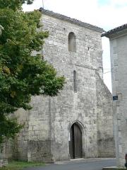 Eglise Saint-Thomas -  église de Hiersac (Charente)