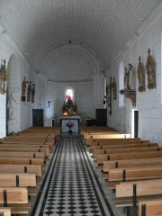 Eglise Saint-Thomas -  église de Hiersac (Charente), France