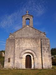 Eglise de Saint-Palais-des-Combes - Français:   Chapelle de Saint-Palais-des-Combes, Lignières-Sonneville, Charente, France (inscrit, 1973)