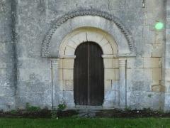 Eglise de Saint-Palais-des-Combes - Français:   Chapelle de St-Palais des Combes, Lignières-Sonneville, Charente, France
