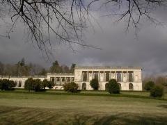 Château de la Mercerie -  Façade du château de la Mercerie près de Villebois-Lavalette, le