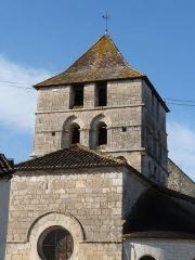 Eglise Saint-Martin - Français:   église de Marthon (Charente, France)