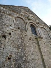 Eglise Saint-Martin - Français:   église de Marthon (Charente, France); mur nord-ouest