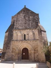 Eglise Saint-Pierre - Français:   église Saint-Pierre, Mérignac, Charente, France (inscrit, 1925)